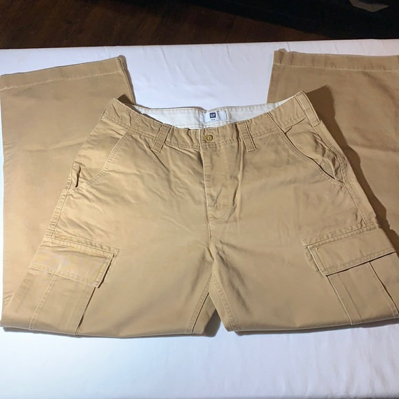 Men's Khaki Cargo Pants